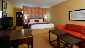 King Room - Marriott Courtyard Indianapolis Capitol