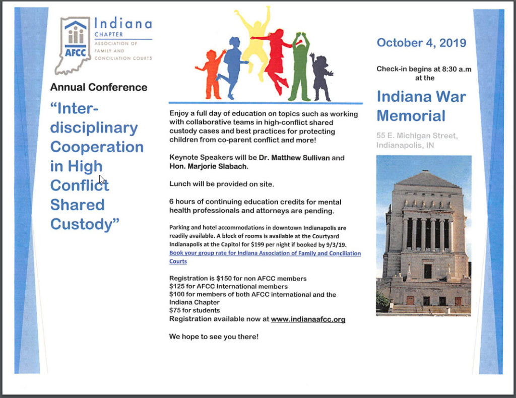 Annual Conference Flyer - 2019