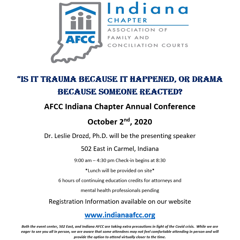 Indiana AFCC Annual Conference 2020