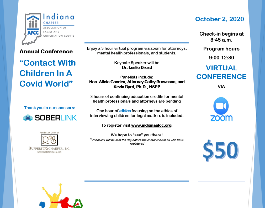Indiana AFCC 2020 Conference - Virtual Flyer