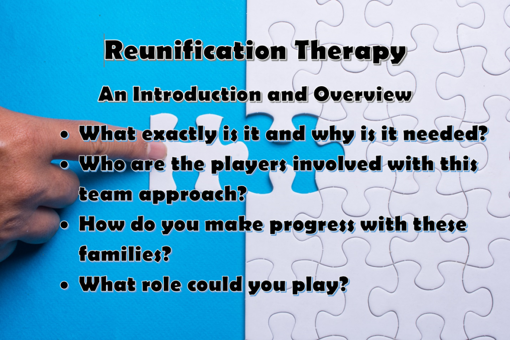 Reunification Therapy Event